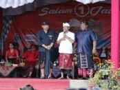 Calon Gubernur dan Wakil Gubernur Bali nomor urut 1, Wayan Koster-Tjok Oka Artha Ardhana Sukawati (Koster-Ace) menggelar kampanye di Kabupaten Buleleng - foto: Istimewa