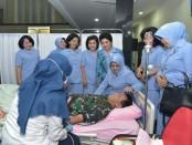 Donor darah Memperingati Hari Ulang Tahun (HUT) TNI AU yang ke-72,  Mabesau, Senin, 2 April 2018 - foto: Istimewa