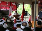 Cagub nomer urut 1 I Wayan Koster menggelar kampanye dialogis di Jembrana - foto: Istimewa