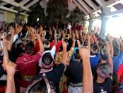 Dukungan warga di 5 desa se-Kecamatan Kediri untuk Koster-Ace - foto: Istimewa