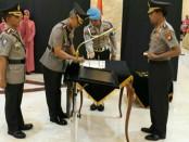 Kapolda Metro Jaya memimpin serah terima jabatan enam pejabat utama dan Kapolres di wilayah hukum Polda Metro Jaya - foto: Bob/Koranjuri.com