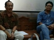 Ketua Umum KONI Bali, Ketut Suwandi (kanan) bersama Sekretaris Umum KONI Bali, IGN Oka Dharmawan (kiri) - foto: Istimewa