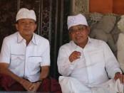 calon gubernur nomer urut 1, I Wayan Koster (kiri) - foto: Istimewa