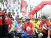 Kampanyekan Keselamatan Berlalulintas, Menhub Lepas Touring Sepeda Jakarta-Surabaya - foto: Istimewa
