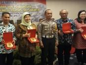 Seminar Permasalahan dan Penanganan Transportasi Online di Provinsi DKI Jakarta di Hotel Diradja, Selasa, 3 April 2018 - foto: Istimewa