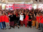 Kelurahan Kesiman memiliki 13 banjar dengan total jumlah pemilik hak suara sebanyak 7.900 jiwa. Warga siap memenangkan pasangan Koster-Ace - foto: Istimewa