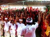 Dukungan untuk Koster-Ace dari warga di Peguyangan, Kecamatan Denpasar Utara, Kota Denpasar - foto: Istimewa
