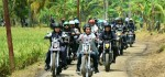 Konvoi Motor Custom Rombongan Presiden Tinjau PKT Sukabumi