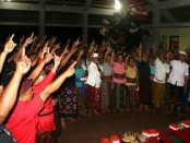Tak henti-hentinya arus dukungan datang dari masyarakat Klungkung terhadap pasangan calon 'Satu Jalur' - foto: Istimewa