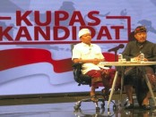 Koster-Ace tampil pada acara acara Kupas Kandidat, Rabu (11/4) malam - foto: Istimewa