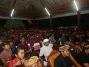 Kebulatan tekad Sekaa Teruna Dharma Prawerti ke-46, Kecamatan Abiansemal, Badung, mendukung pasangan Koster-Ace - foto: Istimewa