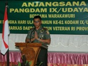 Pangdam IX/Udayana, Mayjen TNI Benny Susianto - foto: Istimewa