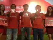 Para pemain andalan Bali United dari kiri: Irfan Bachdim, Stefano Lilipaly dan I Gede Sukadana - foto: Istimewa