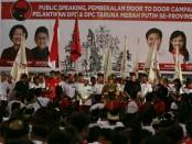 Sekitar 5 ribu kader Taruna Merah Putih (TMP) dari 9 kabupaten/kota  se-Bali, Minggu (20/5/2018) di GOR Kompyang Sujana, Denpasar - foto: Istimewa