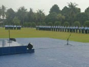 Peringatan Hari Kebangkitan Nasional ke-110 di lapangan upacara Makoopsau I, Senin (21/5) - foto: Istimewa