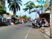 Kawasan jalan MT Haryono, Kutoarjo, salah satu sasaran penertiban PKL - foto: Sujono/Koranjuri.com