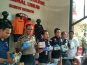 Subdit III Resmob Ditreskrimum Polda Metro Jaya menggelar 3 kasus penangkapan - foto: Bob/Koranjuri.com