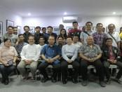 Kegiatan bincang santai dengan topik Pendidikan Tinggi, IT dan Melawan Paham Radikalisme di Kampus STIKOM Bali, Sabtu, 26 Mei 2018 - foto: Istimewa
