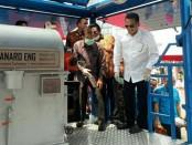 Pemusnahan barang bukti sabu-sabj seberat 2,647 ton yang diungkap dari sindikat jaringan internasional di Silang Monas, Jakarta Pusat, Jumat, 4 Mei 2018 - foto: Bob/Koranjuri.com