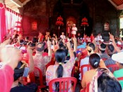 Koster-Ace menggelar kampanye di Balai Subak Desa Lepang, Kecamatan Banjarangkan, Kabupaten Klungkung - foto: Istimewa