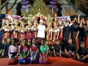 Koster dihadapan ratusan wargaBanjar Dinas Jumpai Kangin, Desa Jumpai, Kecamatan Klungkung - foto: Istimewa