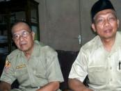 Kepala SMK PN Purworejo, Suhad, S.Pd, M.M.Pd, didampingi Waka Humas Drs Daryono - foto: Sujono/Koranjuri.com
