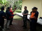 Pangdam IX/Udayana, Mayjen TNI Benny Susianto, mengunjungi Pusat Vulkanologi Pos Pengamatan Gunung Api Agung di Dusun Baler Pasar, Desa Rendang, Kecamatan Rendang, Kabupaten Karangasem, Jumat, 29 Juni 2018.
