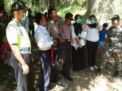 Lokasi penemuan mayat di Kali Dolang, Sambeng, Bayan - foto: Sujono/Koranjuri.com