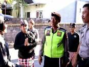 Tim gabungan melakukan patroli ke pemukiman yang warganya hijrah sementara untuk melakukan mudik ke kampung halaman - foto: Istimewa