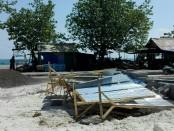 Proyek penataan pantai Jerman di Kecamatan Kuta - foto: Istimewa