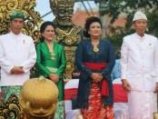 Pesta Kesenian Bali (PKB) Ke-40 resmi dibuka oleh Presiden Joko Widodo, di depan Monumen Bajra Sandi,  Renon, Denpasar, Sabtu (24/6/2018) - foto: Istimewa