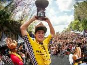 Jack Robinson peselancar asal Australia Barat menjuarai 'Rip Curl Cup 2018' yang digelar di Pantai Padang Padang, Pecatu, Bali - foto: Ari Wulandari/Koranjuri.com