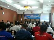 Suasana pelatihan jurnalistik yang diselenggarakan PWOI Jawa Tengah, di Hotel Pandanaran, Semarang, Sabtu (28/7) - foto: Sujono/ Koranjuri.com
