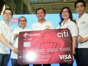 Peluncuran kampanye 'Live Large' dari Citi Telkomsel Credit Card - foto: Ari Wulandari/Koranjuri.com