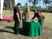 TNI Manunggal Membangun Desa (TMMD) Ke-102 tahun 2018 Kodim 1617/Jembrana, resmi dibuka oleh Bupati Jembrana, I Putu Arta - foto: Istimewa