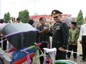 Momen upacara Hari Bhayangkara Ke-72 Polres Kebumen bukan hanya dirasakan oleh sejumlah personel Polri - foto: Istimewa