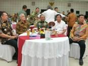 Silaturahmi Keluarga Besar TNI (KBT)  bersama purnawirawan - foto: Istimewa