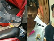 Polsek Tambora, Jakarta Barat menangkap dua jambret yang kerap beraksi di Tambora, Jakarta Barat - foto: Bob/Koranjuri.com