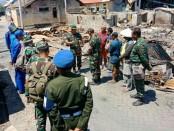 Pangdam IX/Udayana Mayjen TNI Benny Susianto mengunjungi wilayah Sumbawa untuk meninjau kebakaran di Desa Pulau Bungin, Kecamatan Alas, Kabupaten Sumbawa - foto: Istimewa