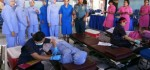 Jalasenastri Cabang 10 Korcab V DJA II Gelar Donor Darah