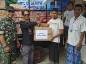 DPW IMO Bali mengadakan penggalangan bantuan logistik dengan tagline 'IMO Bali Peduli Lombok'. Bantuan disalurkan ke korban gempa di Lombok Tengah, Sabtu, 25 Agustus 2018 - foto: Istimewa