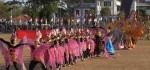 Meriahkan Carnival Grebeg Kamardikan, SMK Batik Purworejo Usung Formasi Sea Games
