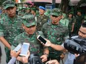 Kepala Staf TNI Angkatan Darat Jenderal TNI Mulyono mengunjungi Lombok paska ditetapkannya Masa Transisi penanganan gempa Lombok - foto: Istimewa