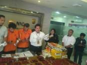 Subdit  II Direktorat Reserse Narkoba Polda Metro Jaya berhasil menggagalkan peredaran 20.000 butir happy five atau H5 - foto: Bob/Koranjuri.com