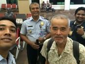 Sato Shigeru, warga Jepang yang dideportasi Rudenim Denpasar karena menyalahi ijin tinggal - foto: Istimewa