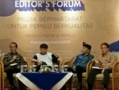 Para narsum di acara 'Editor's Forum' - foto: Ari Wulandari/Koranjuri.com