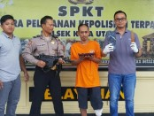 Polisi memburu pelaku yang berasal dari Lembar, Lombok Barat, NTB ini, sejak tiga bulan lalu. Namun pelaku berhasil kabur ketika akan ditangkap - foto: Istimewa