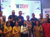 Foto bersama usai launching program 'Telkomsel The NextDev on The Mission' di Kupang, NTT - foto: Ari Wulandari/Koranjuri.com