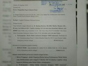 Surat gugatan IMO Indonesia kepada Dewan Pers yang didaftarkan di Pengadilan Negeri (PN) Jakarta Pusat pada tanggal 9 Agustus 2018 - foto: Istimewa