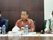Hizbullah (tengah) saat memberikan penjelasan pelaksanaan 'SEPMT 2018' di Denpasar - foto: Ari Wulandari/Koranjuri.com